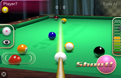Descarga gratuita de 3D Pool Master para iPhone, iPad y iPod.