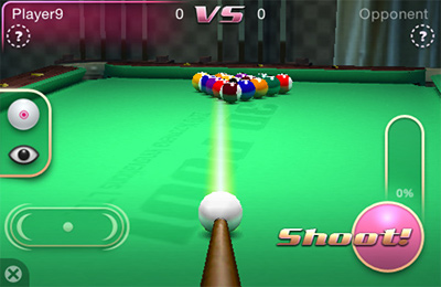 Capturas de pantalla del juego 3D Pool Master para iPhone, iPad o iPod.