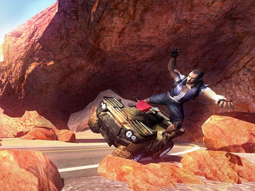 Download 3D quad bikes iPhone free game.