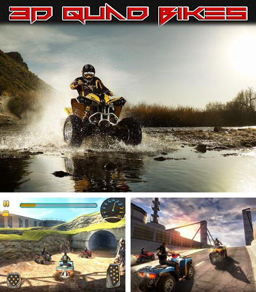 In addition to the game Crystal cave: Classic for iPhone, iPad or iPod, you can also download 3D quad bikes for free.