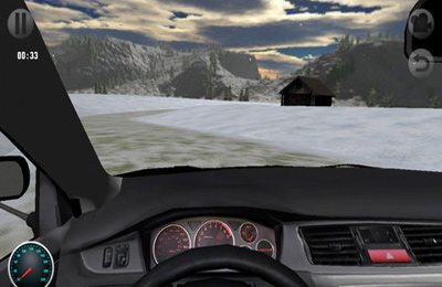 Screenshots vom Spiel 3D Rally Racing für iPhone, iPad oder iPod.