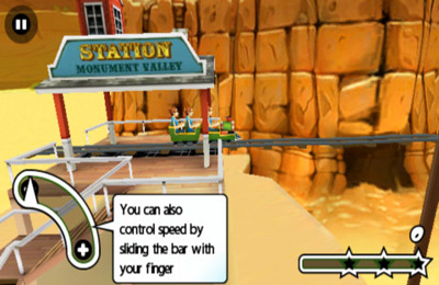 Download 3D Rollercoaster Rush iPhone free game.