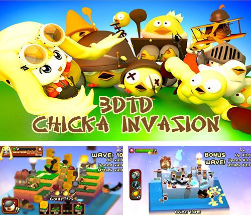 In addition to the game Fotonica for iPhone, iPad or iPod, you can also download 3DTD: Chicka invasion for free.