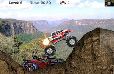 Téléchargement gratuit de 4 Wheel Madness (Monster Truck 3D Car Racing Games) pour iPhone, iPad et iPod.
