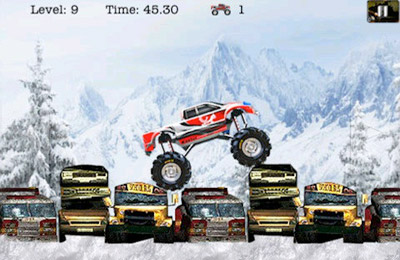 Écrans du jeu 4 Wheel Madness (Monster Truck 3D Car Racing Games) pour iPhone, iPad ou iPod.