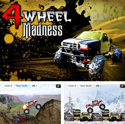 In addition to the game Crazy gears for iPhone, iPad or iPod, you can also download 4 Wheel Madness (Monster Truck 3D Car Racing Games) for free.