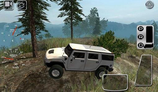 Screenshots of the 4x4 Off-road rally 2 game for iPhone, iPad or iPod.
