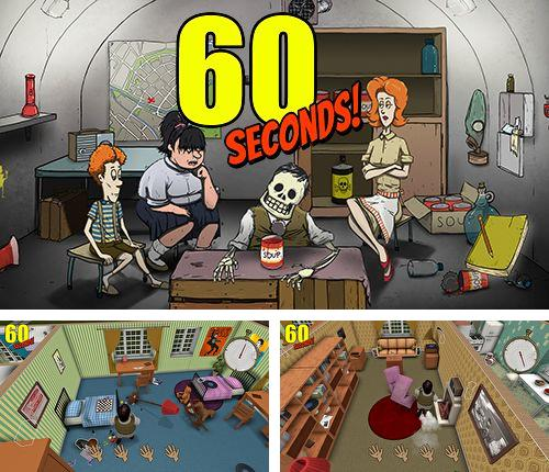 In addition to the game Meteor 60 seconds! for iPhone, iPad or iPod, you can also download 60 seconds! Atomic adventure for free.
