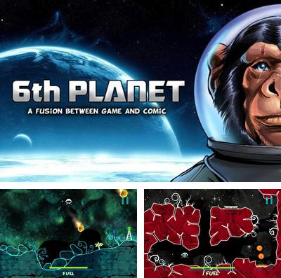 In addition to the game Sentinel 4: Dark star for iPhone, iPad or iPod, you can also download 6th Planet for free.