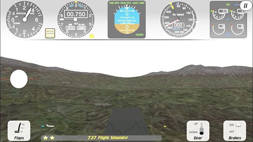 Игра 737 flight simulator для iPhone