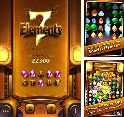 In addition to the game Qwirkle for iPhone, iPad or iPod, you can also download 7 Elements for free.