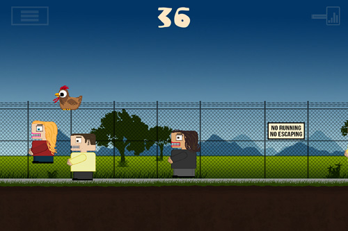 Screenshots of the 7 lbs of freedom game for iPhone, iPad or iPod.
