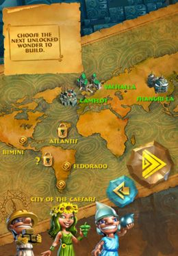 Screenshots do jogo 7 Wonders: Magical Mystery Tour para iPhone, iPad ou iPod.