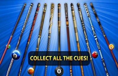 Kostenloses iPhone-Game 8 Ball Pool-Billiard herunterladen.
