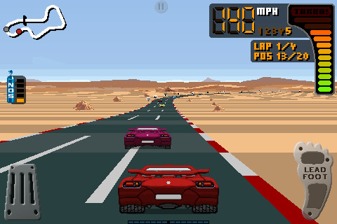 Free 8 Bit Rally download for iPhone, iPad and iPod.