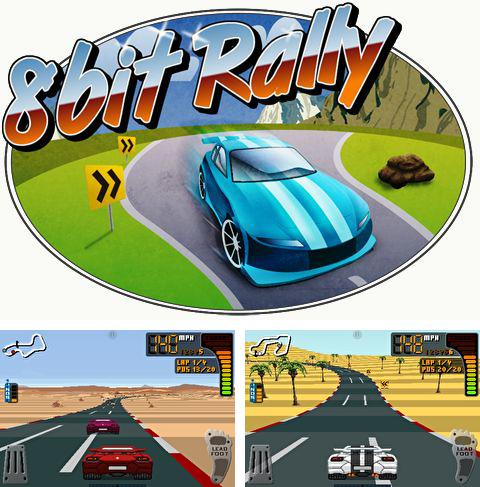 In addition to the game Sports Car Challenge 2 for iPhone, iPad or iPod, you can also download 8 Bit Rally for free.