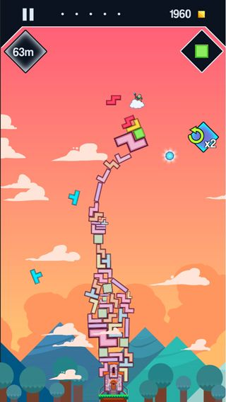 Download 99 Bricks: Wizard academy iPhone free game.