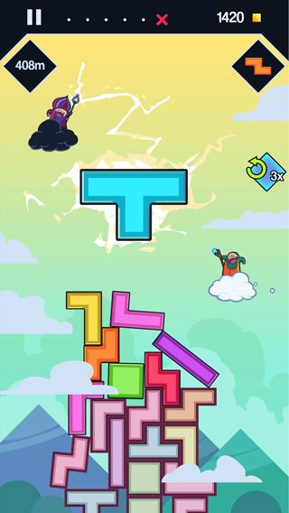Free 99 Bricks: Wizard academy download for iPhone, iPad and iPod.