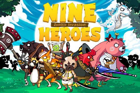 9 Heroes defence: Zombie invasion