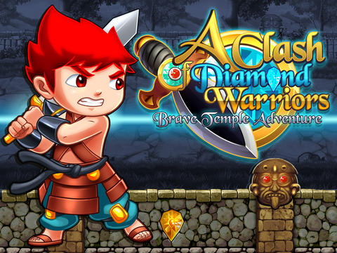A Clash of Diamond Warrior: Temple Adventure Pro Game