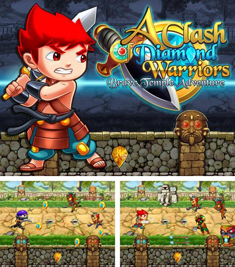 除了 iPhone、iPad 或 iPod 游戏,您还可以免费下载A Clash of Diamond Warrior: Temple Adventure Pro Game, 钻石战士冲突。