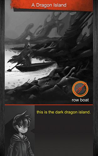 Capturas de pantalla del juego A dark dragon para iPhone, iPad o iPod.
