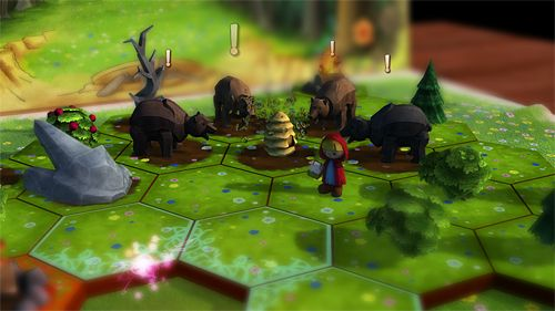 Screenshots of the A day in the woods game for iPhone, iPad or iPod.