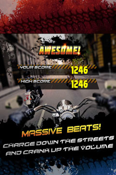 Screenshots do jogo A Furious Outlaw Bike Racer: Fast Racing Nitro Game PRO para iPhone, iPad ou iPod.