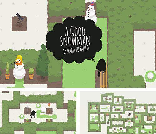 In addition to the game Ice defence for iPhone, iPad or iPod, you can also download A good snowman is hard to build for free.