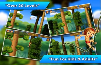 Download A Jungle Swing Pro iPhone free game.
