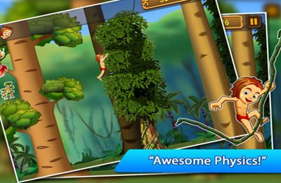 Descarga gratuita de A Jungle Swing Pro para iPhone, iPad y iPod.