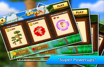 Capturas de pantalla del juego A Jungle Swing Pro para iPhone, iPad o iPod.