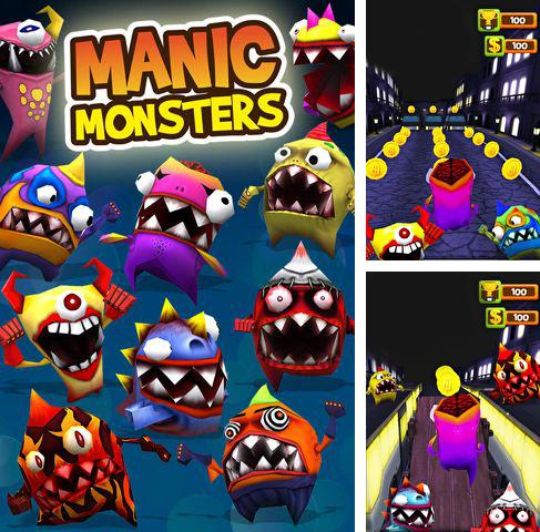 Download A manic monster iPhone free game.