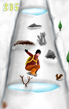 Kostenloser Download von A Snowboarding eXtreme Skills Race HD – Full Version für iPhone, iPad und iPod.