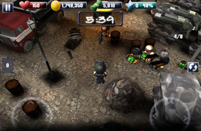 Capturas de pantalla del juego A Thug In Time para iPhone, iPad o iPod.
