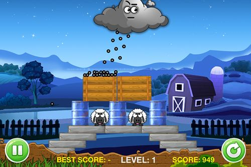 Download A tiny sheep virtual farm pet: Puzzle iPhone free game.