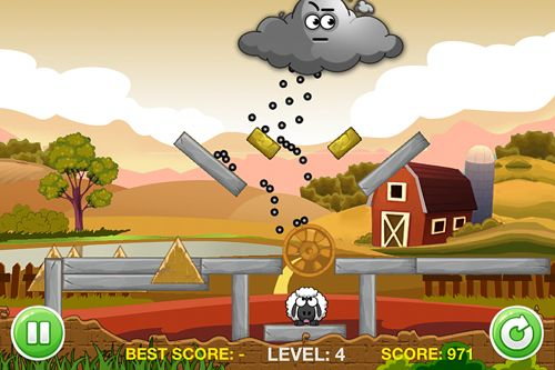 Screenshots of the A tiny sheep virtual farm pet: Puzzle game for iPhone, iPad or iPod.