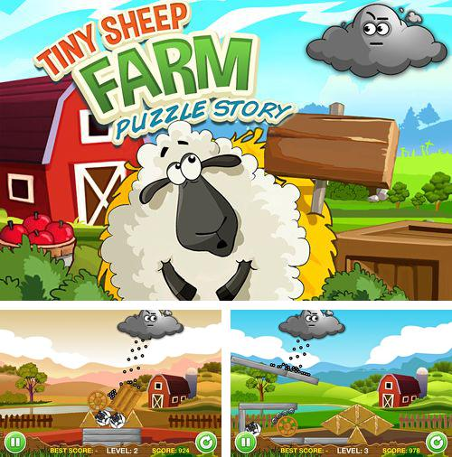 En plus du jeu Dents  pour iPhone, iPad ou iPod, vous pouvez aussi télécharger gratuitement Ferme virtuelle de petits moutons: Puzzle, A tiny sheep virtual farm pet: Puzzle.