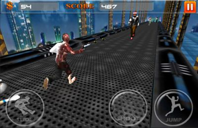 Download A Zombie Rush iPhone free game.