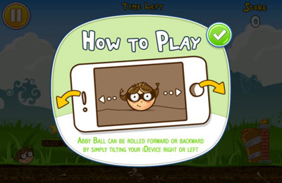 Download Abby Ball iPhone free game.