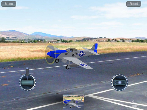 Écrans du jeu Absolute RC plane simulator pour iPhone, iPad ou iPod.