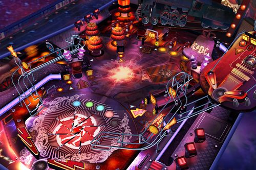 Free AC DC pinball rocks download for iPhone, iPad and iPod.