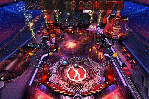 Capturas de pantalla del juego AC DC pinball rocks para iPhone, iPad o iPod.