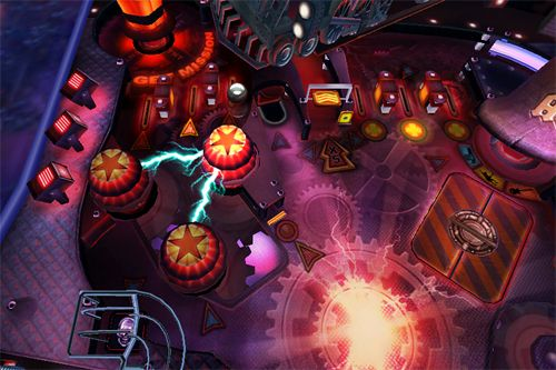 Screenshots of the AC DC pinball rocks game for iPhone, iPad or iPod.
