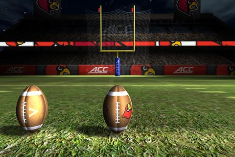 Écrans du jeu ACC football challenge 2014 pour iPhone, iPad ou iPod.