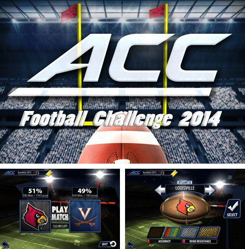 Download ACC football challenge 2014 iPhone free game.