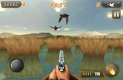 Capturas de pantalla del juego Ace Duck Hunter para iPhone, iPad o iPod.
