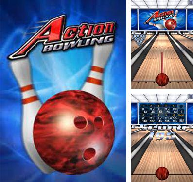 In addition to the game Candy chase for iPhone, iPad or iPod, you can also download Action Bowling for free.