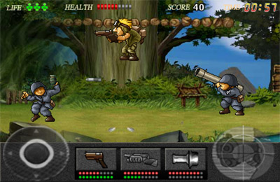 Download Action Commando iPhone free game.