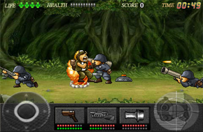 Descarga gratuita de Action Commando para iPhone, iPad y iPod.